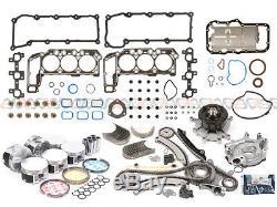 02-03 Jeep Liberty Dodge Ram 1500 3.7l Sact Reconstruction Kit Graphite Vin K