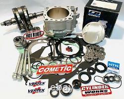06+ Trx450r 450er Complete Reconstruct Motor Engine Rebuild Top Bottom End Kit