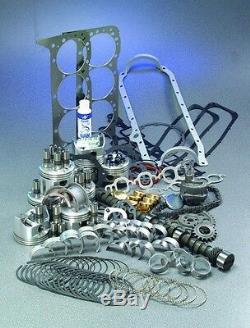 1968-1980 Fits Chevy Gmc 5.7 350 Moteur Maître Reconstruire Kit Avec Pistons Vaisselle