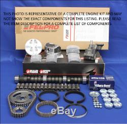 1991-1995 Ford 302 5,0 Master Ho Engine Rebuild Kit Rouleau Étape 2 Cam Mustang