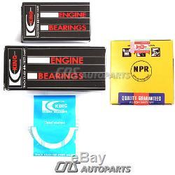 1994-00 Kit 1.6l B16a2 B16a3 B16a De Nouvelle Bague De Moteur Vtec 1.6l CIVIC Si Del Sol