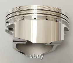 383 Stroker Assembly Scat Crank 6 Tiges Wiseco Flat Top 040 Pistons 2pc Rms