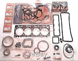 4bt Ve P7100 Qualité Re-ring Kit De Rechange Avec Rod Pour Roulements Cummins 3.9 12v