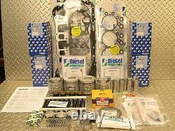 4d56di-t 2.5l Turbo Moteur Diesel Reconstruire Kit Pour Mitsubishi ML & Mn Triton