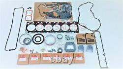 6bt Quality Re-ring Rebuild Kit Avec Roulements À Tige Pour Cummins 12v 5.9 Ve P7100 Nouveau