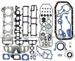 85-95 Toyota 4runner Pickup 2.4l 22re 22rec Sohc Nouveau Kit De Reconstruction De Moteur Principal