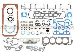 85-95 Toyota 4runner Pickup Celica Kit De Reconstruction De Moteur Principal De 2,4 L 22r 22re 22rec