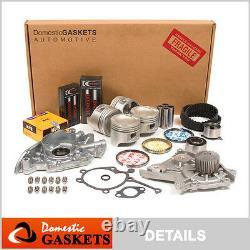 88-92 Mazda 626 Mx6 Ford Probe 2.2l Sohc Kit De Remise En État Du Moteur F2 Vin C