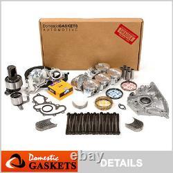 89-92 Toyota 4runner Pickup 3.0l Sohc Master Engine Rebuild Kit 3vze -1 Pipe