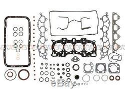 90-95 Acura Integra Gs Ls - Kit De Reconstruction Du Moteur De Révision - 1.8l Dact - B18a1 B18b1