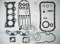 92-95 Honda CIVIC Ex Del Sol Si V-tec 1.6 Sohc D16z6 Kit De Remise En État Du Moteur
