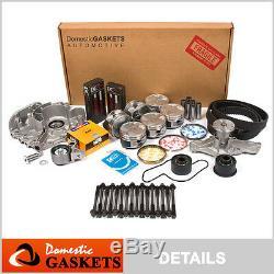 93-94 Mazda 626 Mx6 Ford Probe 2.5l Dohc Maître Refonte Engine Rebuild Kit Kl