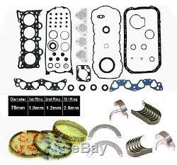 96-00 Honda CIVIC Del Sol 1.6l Sohc D16y D16y5 D16y7 D16y8 Kit Re-ring