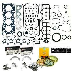 98-01 Honda Prelude 2.2l 16v H22a4 Dact Vtec Npr King & Rebuild Kit Re-ring