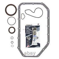 Ajustement 02-06 Honda Cr-v 2.4l Dohc Full Gasket Pistons&bearings&ring Set K24a1