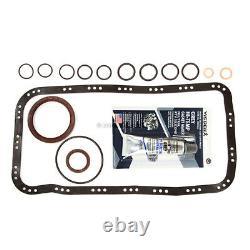 Ajustement 99-01 Honda Cr-v 2.0l Dohc Full Gasket Pistons&bearings&rings Set B20z2