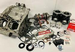 Banshee Cases Complete Engine Motor Rebuild Kit Top Bottom End Cylinders Crank
