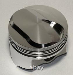 Bbc 454 Assemblage Rotatif Scat Crank & Wiseco Pistons Forgés +33cc-4.280-2pc