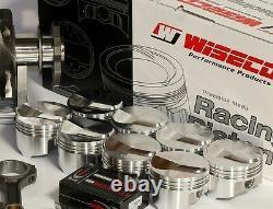 Bbc Chevy 496 Assemblée Scat & Wiseco +25cc Dome 4.310 Pistons 060 Sur 2pc Rms