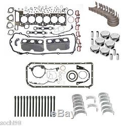 Bmw E39 E46 E53 E83 X5 M54 3.0 Kit De Reconstruction Du Moteur 01-06 Joint Anneaux De Pistons