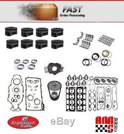 Chevrolet Gmc Truck 5.3l 325 Kit De Révision Générale De Reconstruction De Moteur Vortec 01-03 Premium