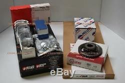 Chevy 327 / 350hp L79 Kit Moteur Pistons + Forged Moly Anneaux + + Roulements Joints 68-69