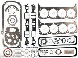 Chevy 350 / 5.7 Vin-k Master Kit Moteur Anneaux + Gaskets Etape 2 Cam + 5/8 Op 1987-1994