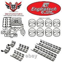 Chevy Chevrolet 327 350 5.7 Sbc 1968 1985 Enginetech Rering Rebuild Kit