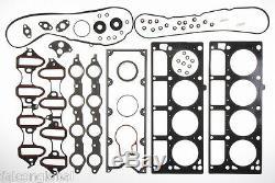Chevy / Gmc 5.3l 4.8l Ls Moteur Rering Kit + Anneaux + Joints Roulements 1999-1907