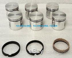 Chevy Voiture 235 Master Kit Moteur Hyd Cam + Pistons + Roulements + Anneaux 1956 1957 1958
