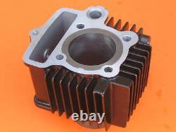 Cylindre / Tete Kit Complet Kit De Rechange Pour Honda C100 97cm3 Moteur 100cc
