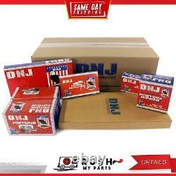 Dnj Ek525 Kit De Reconstruction Moteur Pour 89-95 Geo Suzuki Sidekick Tracker 1.6l Sohc 8v