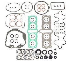 Engine Rebuild Kit Honda Cb550 1974-1978 Joint D'huile Joints D'huile Std Piston Rings