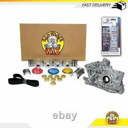 Engine Rebuild Kit S'adapte 97-02 Mitsubishi Mirage 1.5l L4 Sohc 12v 4g15