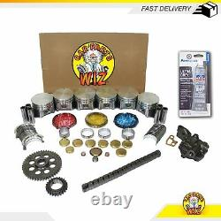 Engine Rebuild Kit S'adapte 98-03 Dodge B1500 Dakota 3.9l V6 Ohv 12v Vin X Magnum