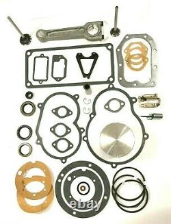 Engine Rebuild Overhaul Kit Fits Briggs & Stratton 14 & 16hp Moteurs En Fonte