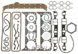 Ensemble De Moteur Chevy 350 5.7l Pistons À Surface Plate Hypereutectiques + Bagues + Distribution 1968-79