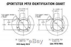 Ensemble De Reconstruction Du Joint De Moteur Complet James Harley Harbour Late Ironhead Sportster 1000