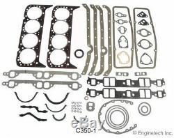 Étape 4 383 Stroker Chevy Sbc Engine Rebuild Kit Jupe Coated Claimer Pistons