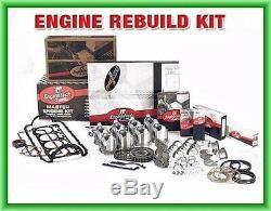 Fit 1993 1994 1995 Chevrolet Light Truck 350 Kit De Reconstruction De Moteur V8 Sbc 350 5.7 L Ohv