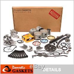 Fit 90-97 Nissan D21 Pick-up 2.4l Kit De Reconstruction Du Moteur De Révision Dans L'ensemble De L'équipement De Châssis (khc) Ka24e