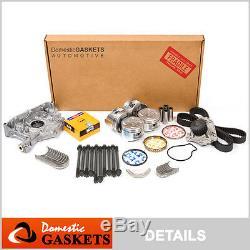 Fit 97-98 Honda Cr-v 2.0l Kit De Reconstruction Du Moteur De Révision Générale Dact B20b4