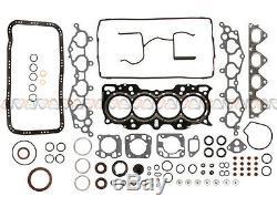 Fit 99-02 Honda Cr-v 2.0l Kit De Reconstruction Du Moteur De Révision Générale Dact B20z2