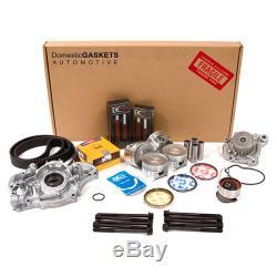 Fits 01-05 Honda CIVIC DX LX 1.7l Sohc Maître Refonte Engine Reconstruire D17a1 Kit