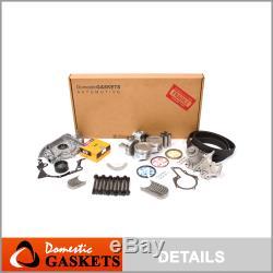 Fits 89-95 Geo Tracker Suzuki Sidekick 1.6l 8 Soupapes Moteur Maître Reconstruire Kit
