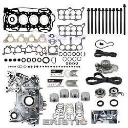 Fits 90-93 L4 2.2l Ex DX Honda Accord LX Se Moteur Kit F22a Reconstruire