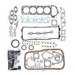 Fits 95-98 Nissan 240sx 2.4l Dohc Engine Overhaul Kit De Réparation Ka24de