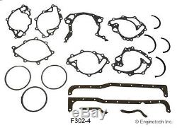 Ford 302 Sbf Etape 1 Salut-perf. Moteur Rebuild Kit Pistons Releveurs Arbres À Cames