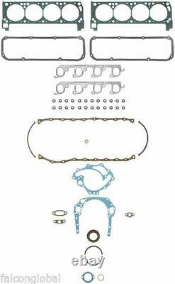 Ford 351c Cleveland Master Eng Kit F/top Pistons Anneaux Cames De Rue 70 71 72 73 74
