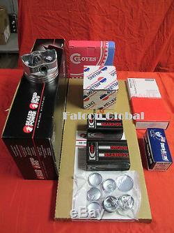 Ford 428 Cobra Kit Kit Pistons Forgés + Bagues Moly + Roulements + Joints 1968-70
